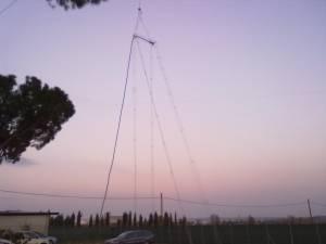 Antenna Morgain Raccorciata 40-80 A V Invert