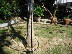 Antenna Magnetica  Diametro 150 Rame Tubo 22