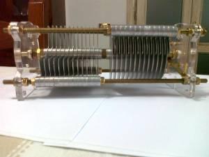 Condensatori Variabile 2 Sezioni